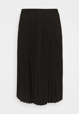 SLFLEXIS MIDI SKIRT - A-line skirt - black