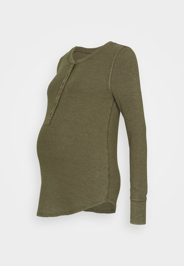 RELAX - Long sleeved top - ripe olive