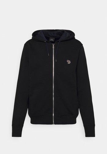 ZIP HOODY UNISEX - Zip-up sweatshirt - black