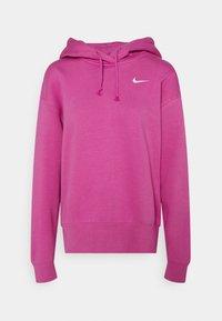 Nike Sportswear - HOODIE TREND - Sweatshirt - active fuchsia/white - 4