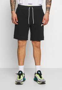 Nike Sportswear - MIX - Shortsit - black/ice silver/white - 0