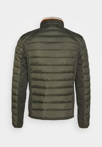 TOM TAILOR - HYBRID JACKET - Light jacket - shadow olive - 1