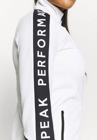 Peak Performance - RIDER ZIP JACKET - Fleecetakki - offwhite - 3