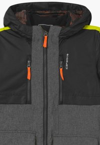Icepeak - LANDRUM UNISEX - Snowboard jacket - lead grey - 2