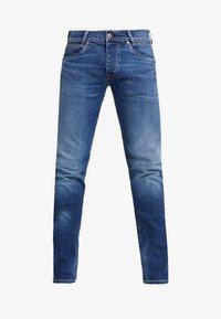 SPIKE - Straight leg jeans - dark used