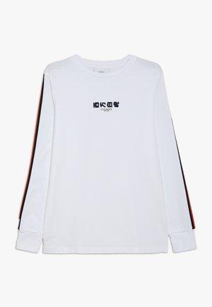 NOUMAN TEE - Long sleeved top - white