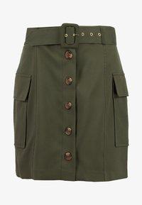 River Island - Mini skirt - khaki - 3