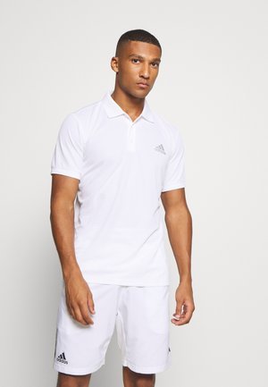 AEROREADY SPORTS TENNIS SHORT SLEEVE - Funkční triko - white/silver
