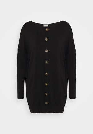 KAMACHELLE ROUND NECK  - Strikkegenser - black deep