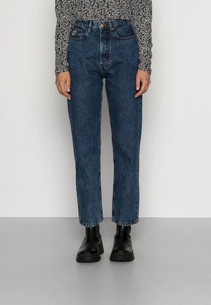 DANA - Relaxed fit jeans - dark stone