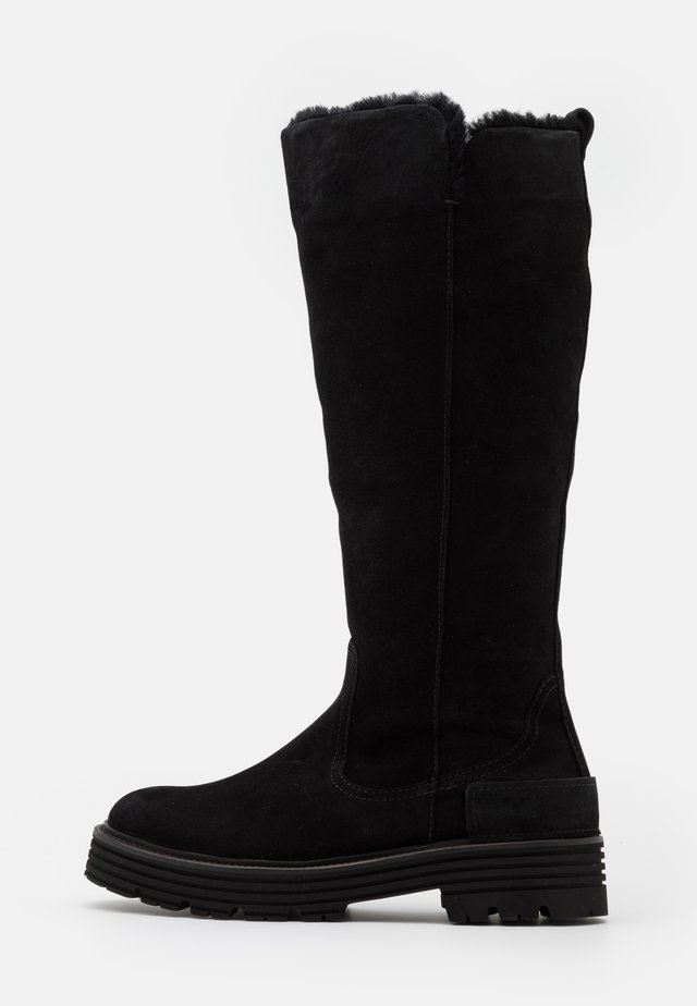 ELA - Platform boots - schwarz
