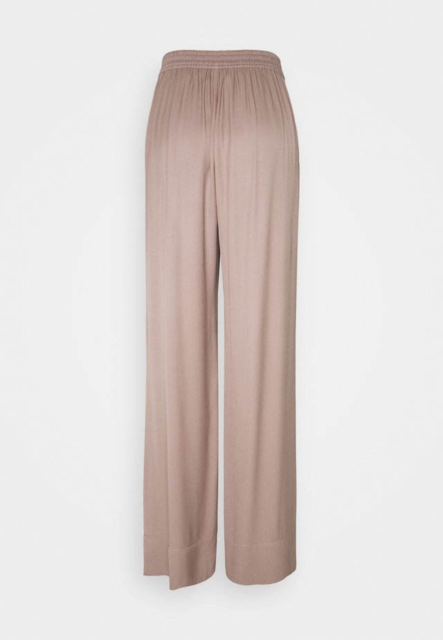 FRIGG WIDE PANTS - Pantalones - taupe