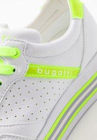 Bugatti - LIAN - Trainers - white / yellow - 2