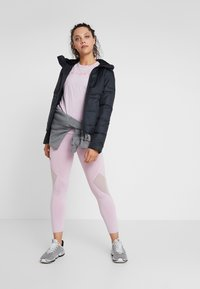 Under Armour - HOODED - Down jacket - black/jet gray - 1