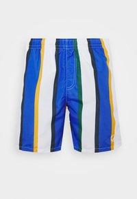 SIGNATURE STRIPE - Shorts - white/blue