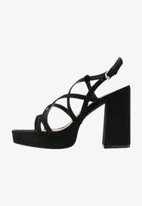 ONLAERIN HEELED CROSSOVER  - High heeled sandals - black