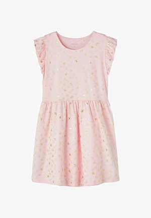 Jersey dress - orchid pink
