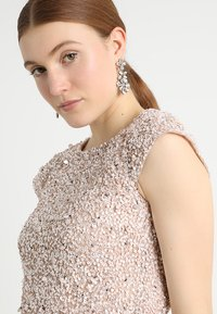 Lace & Beads - PICA  - Bluse - nude - 4