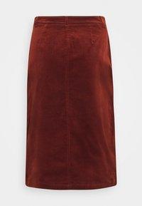 King Louie - EMILIE SKIRT - Pencil skirt - sandelwood brown - 1