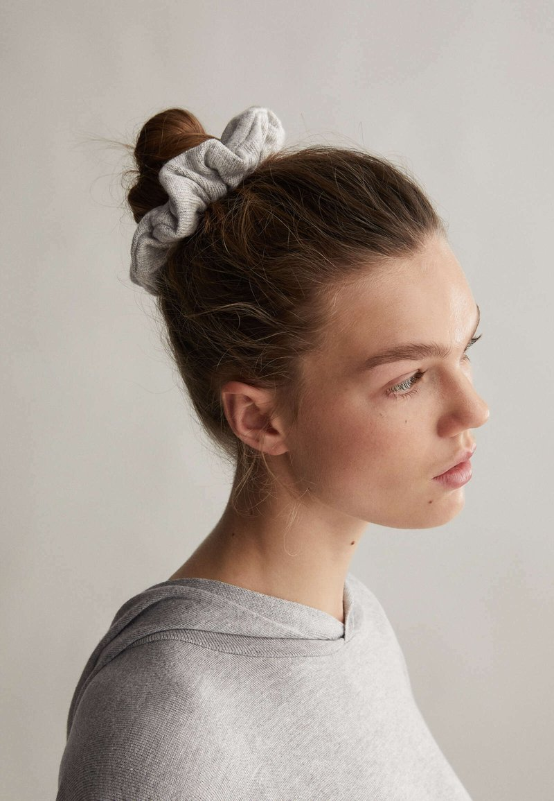 OYSHO - PACK OF 2 - Hair styling accessory - light grey