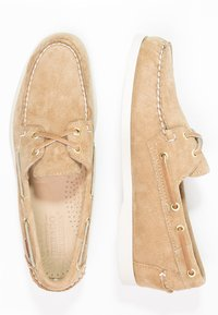 Sebago - DOCKSIDES - Boat shoes - sand - 1