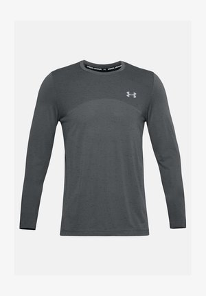 SEAMLESS LS - Long sleeved top - pitch gray