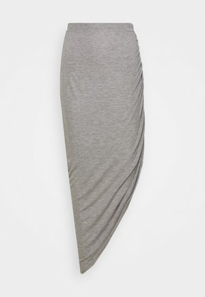 ONLRIKKA SKIRT  - A-line skirt - light grey