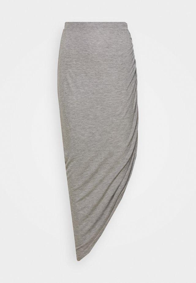 ONLRIKKA SKIRT  - Spódnica trapezowa - light grey