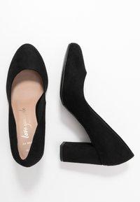 New Look Wide Fit - WIDE FIT REEMA BLOCK - Zapatos altos - black - 3