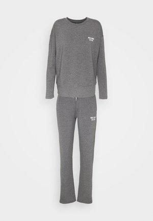 ONLCAMILLA LOUNGEWEAR SET - Pyjamas - dark grey melange
