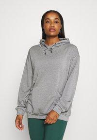 Even&Odd active - Jersey con capucha - dark gray - 0