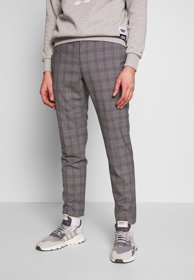 CHECK EXTRA FINE PANTS - Broek - grey