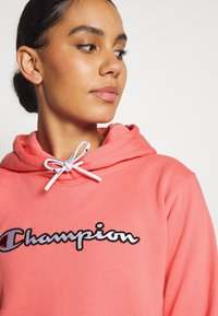 Champion - HOODED ROCHESTER - Jersey con capucha - pink - 3