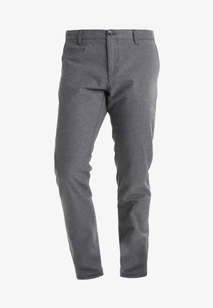 CHUCK THE BRAIN - Trousers - dark grey melange
