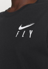 Nike Performance - BOY TEE - Triko spotiskem - black - 3