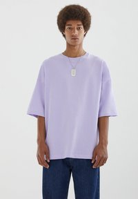 PULL&BEAR - T-shirts basic - purple - 0