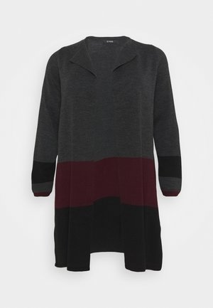 COLOURBLOCK COATIGAN - Cardigan - multi