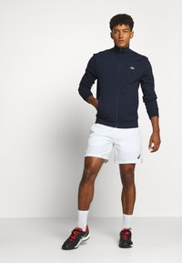 Lacoste Sport - CLASSIC JACKET - Mikina na zip - navy blue - 1