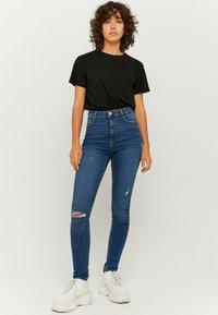 TALLY WEiJL - Jeans Skinny Fit - dark blue - 1