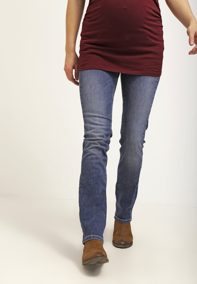 Straight leg jeans - stone wash