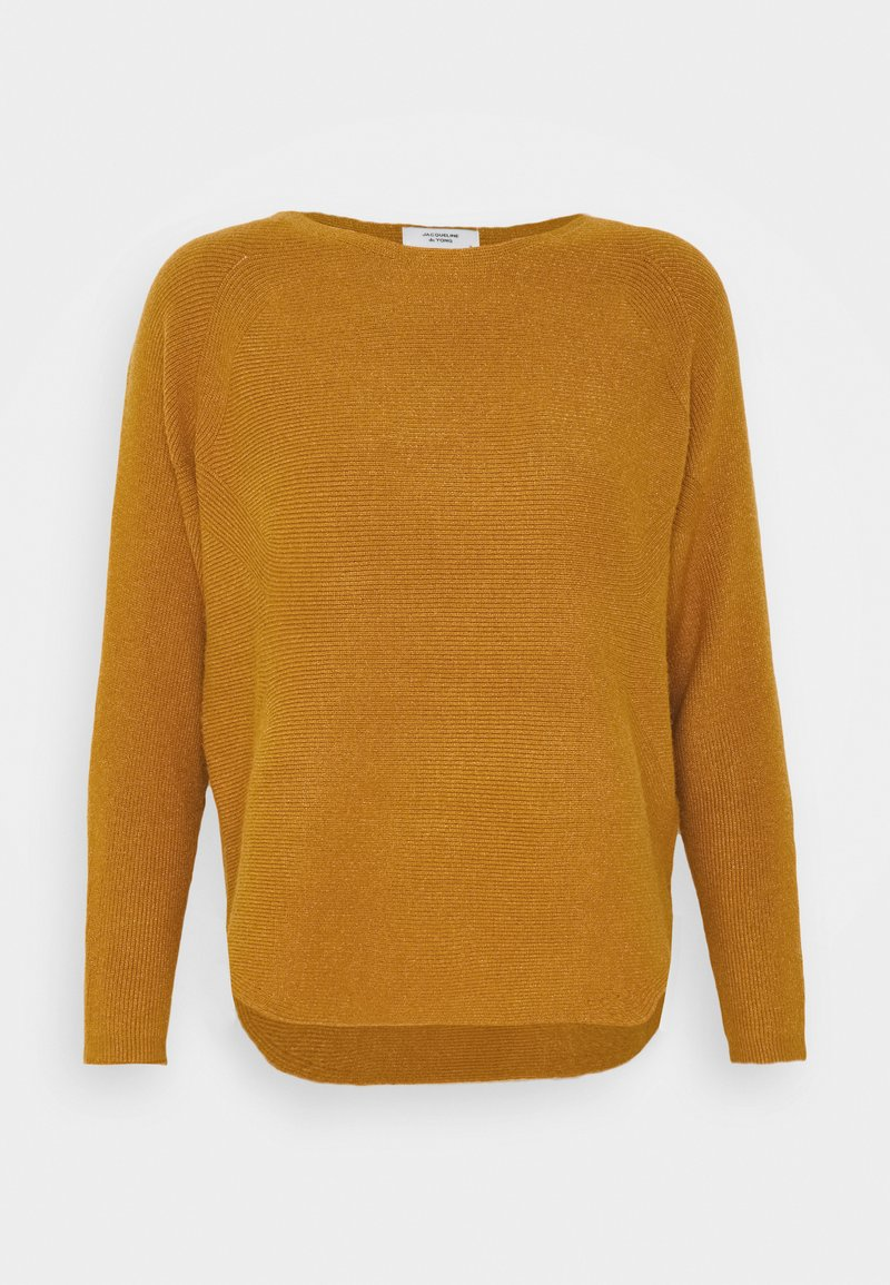 JDY JDYFIRENZE - Strickpullover - golden brown/braun t5FeiP