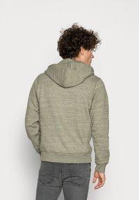 Blend - Zip-up sweatshirt - forest night green - 2