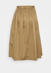 Selected Femme Petite - SLFWANDA MIDI SKIRT - A-line skirt - kelp - 1