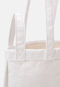 MM6 Maison Margiela - BORSA - Tote bag - white - 4