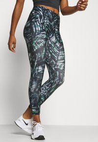 Sweaty Betty - CONTOUR WORKOUT LEGGINGS - Legging - beetle blue - 0