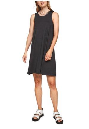 MET RUGHALS - Jersey dress - black