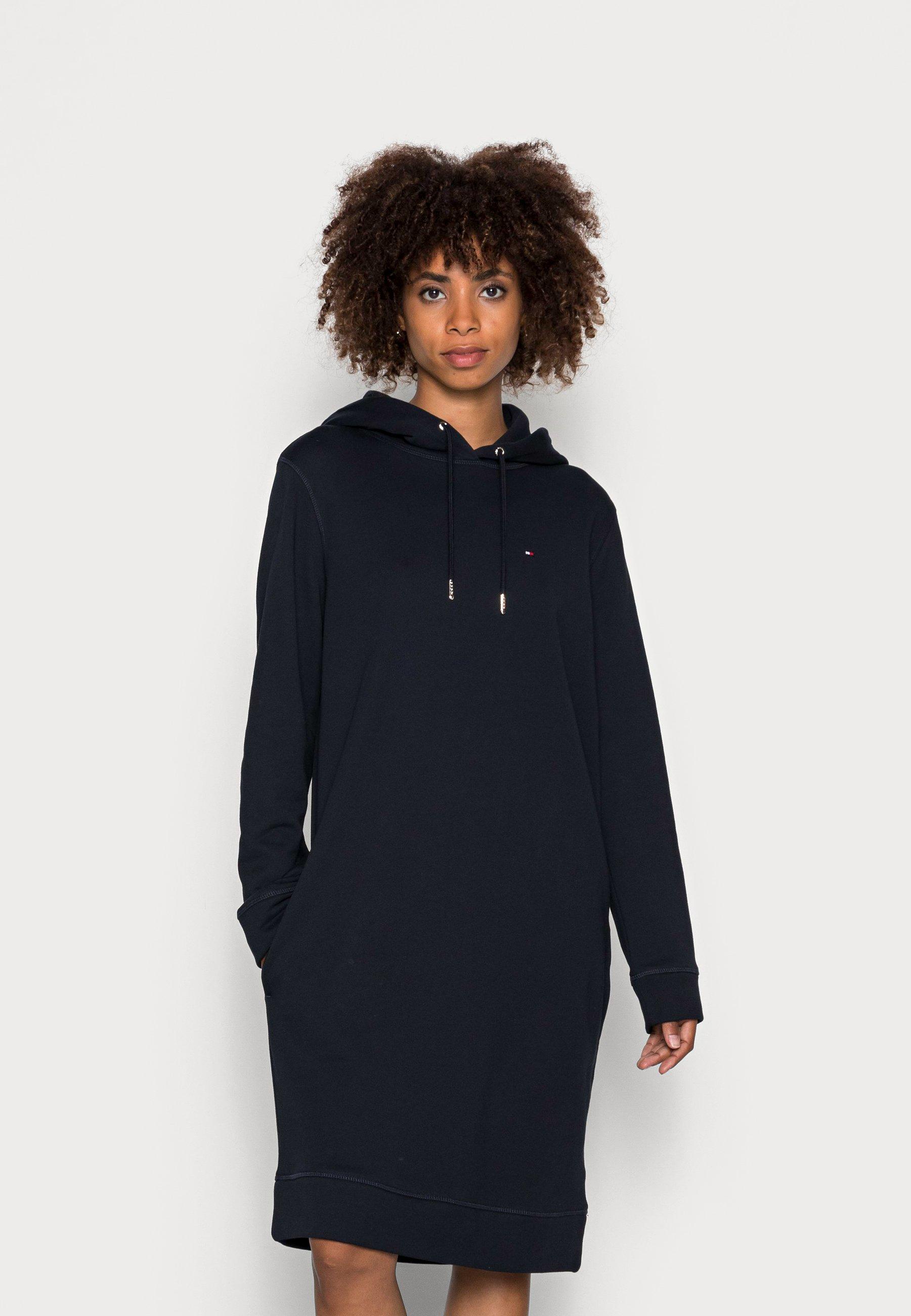 Donna REGULAR HOODIE SHORT DRESS - Vestito estivo