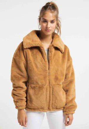 Winterjas - camel