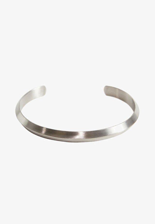 BRACELET ACIER INOXYDABLE METAL - Bracelet - argent