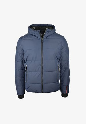 Winter jacket - navy/black